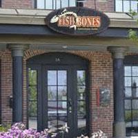 No fish story murray heutz customers paul and kate landry for Fish bones restaurant