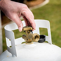 Propane tank valve