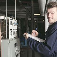 Heating system maintenance