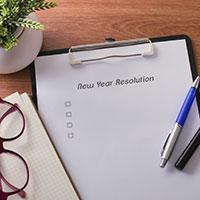 New Year resolution 2018