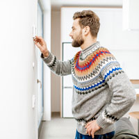 What should I do if my furnace won't stop running?